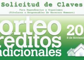 SORTEO 2014 CRÉDITOS TRADICIONALES FOVISSSTE -CONVOCATORIA-
