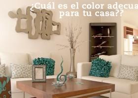 La experiencia del color: ¿Cuál es el color adecuado para tu casa?