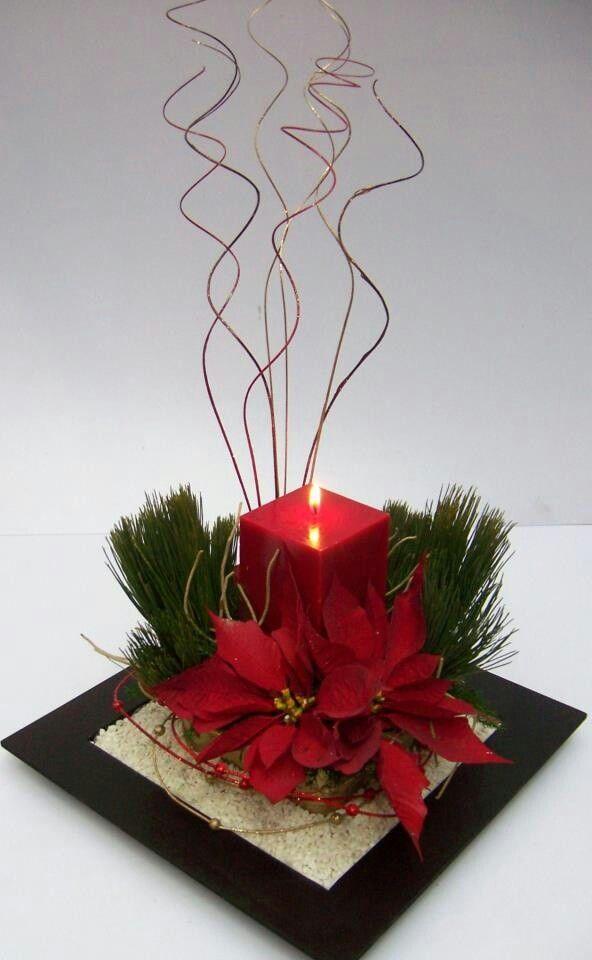 Centros de mesas navide os blog oficial de grupo san - Decoracion navidena para hogar ...