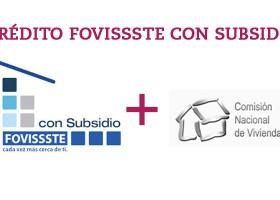 Nuevo crédito hipotecario, FOVISSSTE CON SUBSIDIO