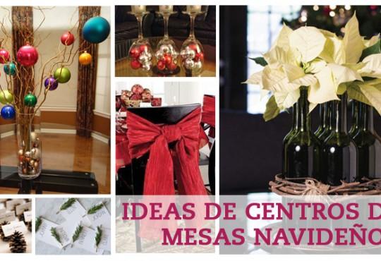 Centros de mesas navideños