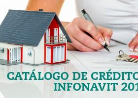 Catálogo de crédito INFONAVIT 2015