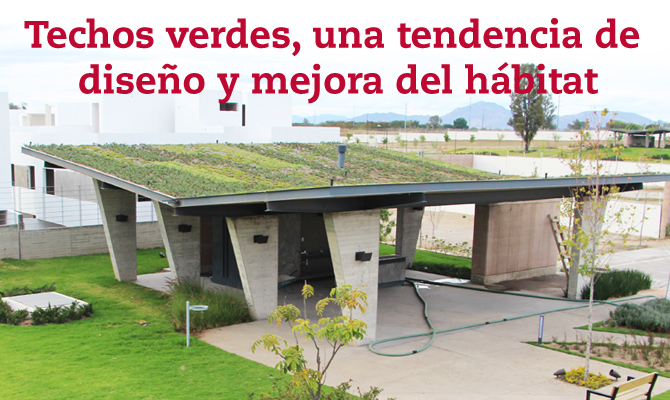 Techos verdes una tendencia de dise o y mejora del for Sobretechos para casas