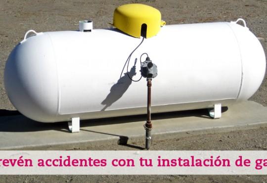 Cuida la instalación de gas de tu casa