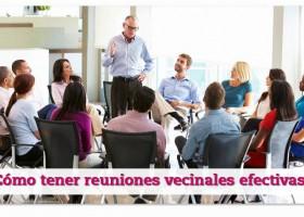 Reuniones vecinales efectivas