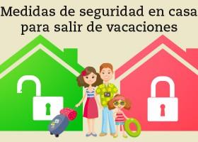 Casa segura en vacaciones
