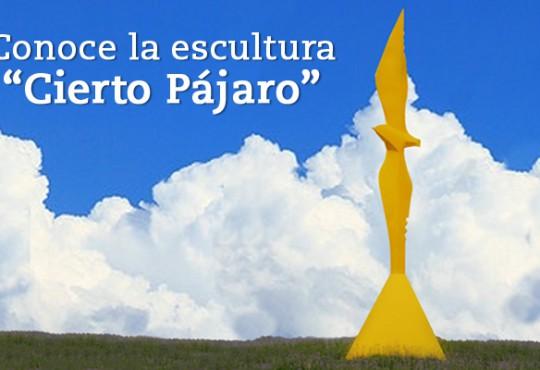"""Conoce la escultura """"Cierto Pájaro"""""""