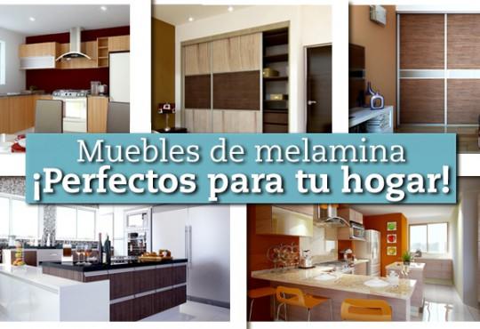 Muebles de melamina, ¡perfectos para tu hogar!