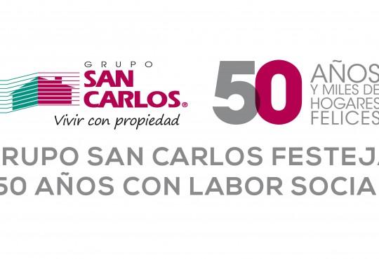 Festeja Grupo San Carlos con labor social
