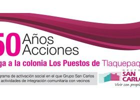 50 Años – 50 Acciones llega a colonia Los Puestos