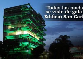El Edificio de Grupo San Carlos se viste de gala