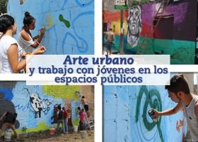 Arte urbano y jóvenes