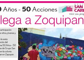 50 Años – 50 Acciones en Zoquipan
