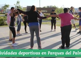 Actividades deportivas en Parques del Palmar