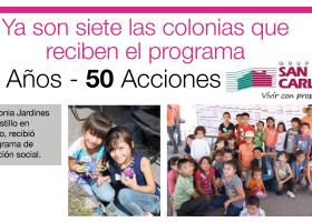 7ma Intervención 50 Años – 50 Acciones