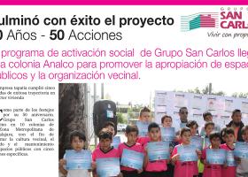 Culmina 50 Años – 50 Acciones en la Colonia Analco
