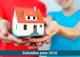 Subsidios de vivienda 2016