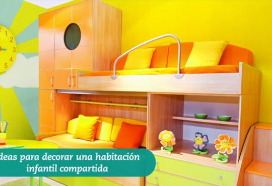 Ideas para decorar una habitación infantil compartida