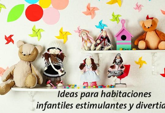 Ideas para habitaciones infantiles estimulantes y divertidas