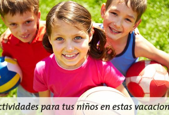 Actividades para tus niños este verano