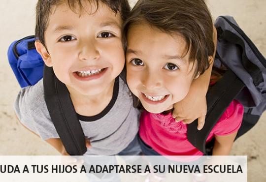 Ayuda a tus hijos en el proceso de cambio de escuela.