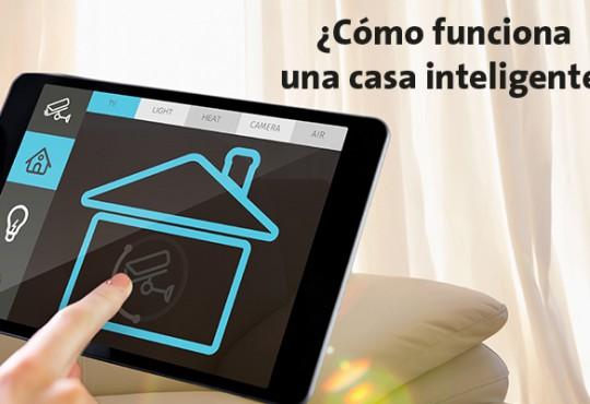 ¿Cómo funciona una casa inteligente?