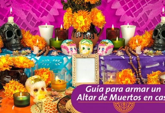 Guía para armar un Altar de Muertos en casa.