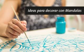 Ideas para decorar con Mandalas
