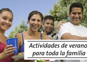 Actividades de verano para toda la familia