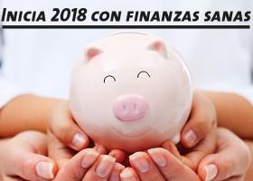 Inicia 2018 con finanzas sanas