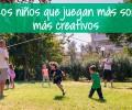 Los niños que juegan más son más creativos
