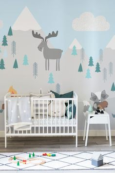 32881e9c27cb01d38a032bcd52975fc7--snowy-mountains-mountains-in-nursery