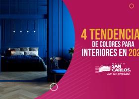 4 tendencias de colores para interiores en 2020